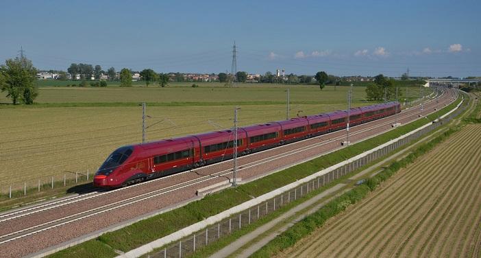 AGV Italo train