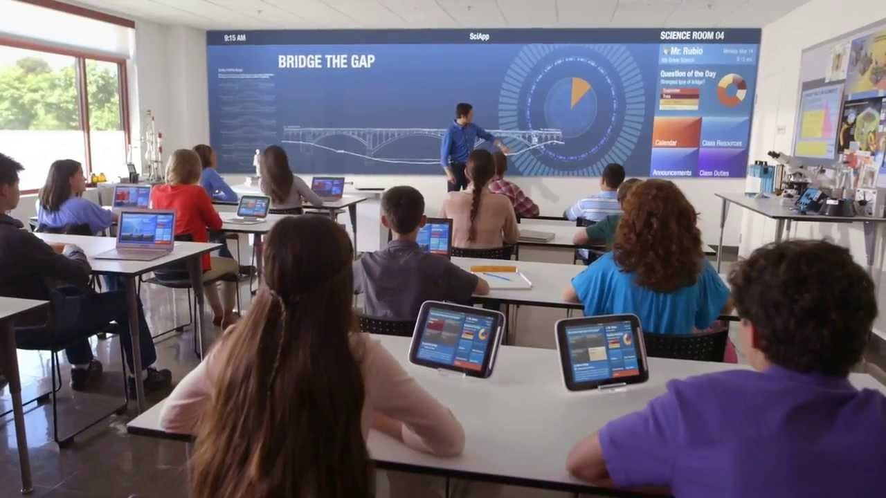Let's discuss the role of information Technology in Education: